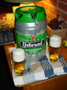 Uit dit vaatje kun je zeldzaam lekker bier tappen. Zeker weten.