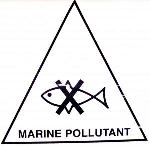 De monding van de Mekong moet in de toekomst wellicht voorzien worden van dit waarschuwingslogo. Uiteindelijk komt dit water ook terecht in onze eigen Noordzee!