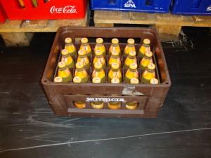 Appelsientje in een Nutricia krat van minstens 10 jaar oud. De Makro: één en al nostalgie.