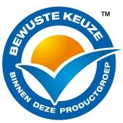 De producent betaalt zich net zo blauw als dit logo om het op zijn producten te mogen afbeelden.