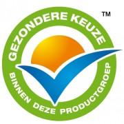 Wat weet een consumetn nou van een gezondere keuze af en de kreet 'productgroep'is net zo nietszeggend als dit logo.