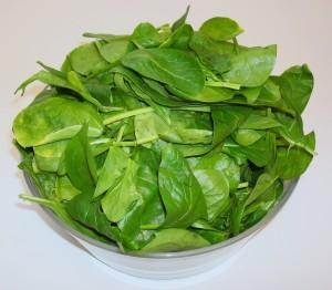 Het eten van een bak rauwkost zoals deze spinazie levert onbeheersbare risico's op voor de moderne consument.