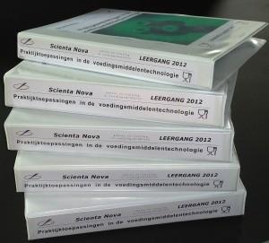 Begin 2013 zullen deze cursusmappen goed gevuld zijn. Met actuele informatie en veel eigen inspanningen van de cursist.