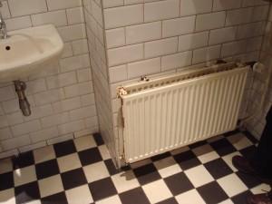 Veel vakkenvullers zullen dit een mooie sanitaire ruimte vinden.