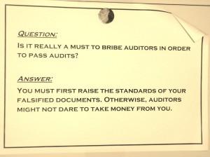 In sommige bedrijven kom je heel vreemde voedselveiligheids certificaten tegen. Daarvoor hoef je niet naar Vietnam te reizen.