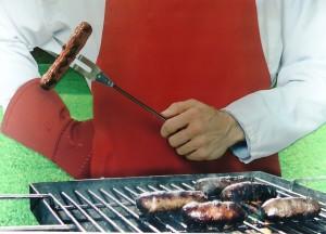 Door worstjes goed gaar te bakken worden alle bacteriën gedood. Of niet Rob?