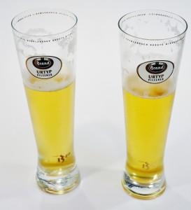 Een glas is altijd half vol! Twee halfvolle glazen maken weer een vol glas! Van gemberbier word je duidelijk nooit pessimistisch