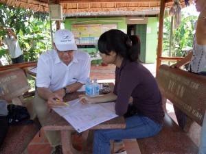 De gesprekken die wij voerden bij de Vietnamese producenten verliepen verre van plezierig. Voor de gastheren althans