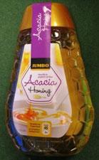 Deze honing bevat meer vocht dan warenwettelijk toegestaan. Staat zelfs op het etiket. Geen gevaar voor de volksgezondheid dus geen prioriteit bij de NVWA om te handhaven.